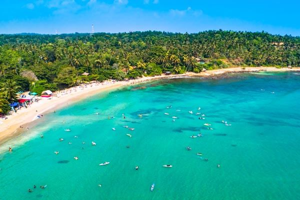 Beach Tour in Sri Lanka
