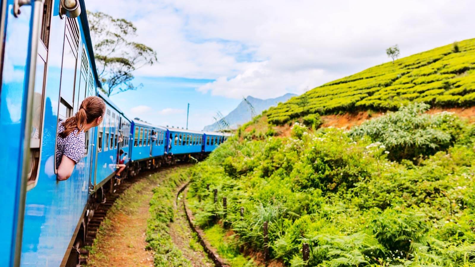 Rail Tour in Sri Lanka